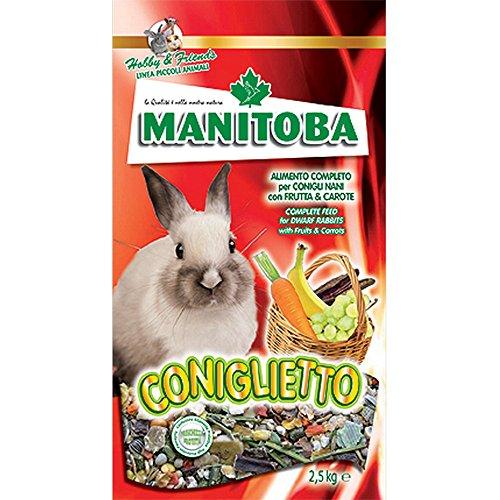 MANITOBA Mangime per coniglio coniglietto kg. 1 Mangimi roditori