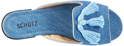 Protezione Donna S2-02380027 Muli Blu (blue Jeans)