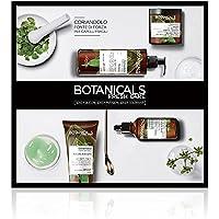 Botanicals Fresh Care L'Oréal Paris Coriandolo Fonte di Forza, Cofanetto Trattamento per Capelli Fragili, 4 prodotti, Senza Siliconi, Parabeni o Coloranti