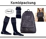 Faltbarer Rucksack & Kleiner 25 Liter Reise & Wanderrucksack von Cascade Point™ – Travel Daypack & Ultraleicht Reiserucksack – wasserdicht & klein + Gratis Kompressionsstrümpfe in Größe L/XL