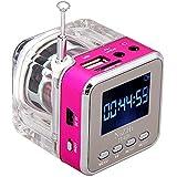 Rokoo Mini Digital Portable Music MP3 / 4 Player Micro SD / TF USB Disque Haut-parleur Radio FM (1)