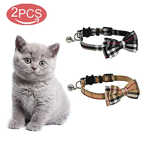 kingkindshun Pack de 2 / Set Chat Collier échappée...