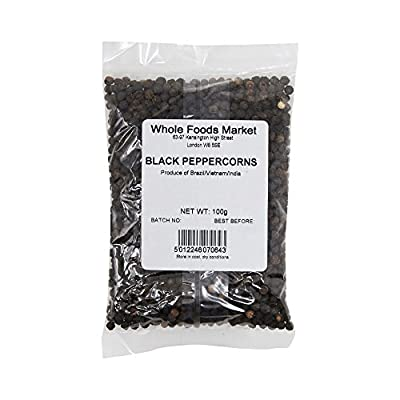 Whole Foods Market Black Peppercorns, 100 g from Whole Foods Market