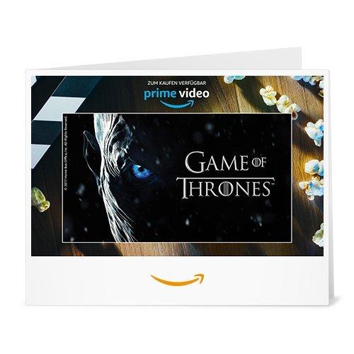 Amazon.de Gutschein zum Drucken (Game of Thrones)