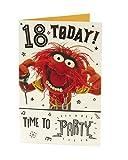 Hanson weiß 345850–0Disney Muppets Animal 18. Geburtstag Karte