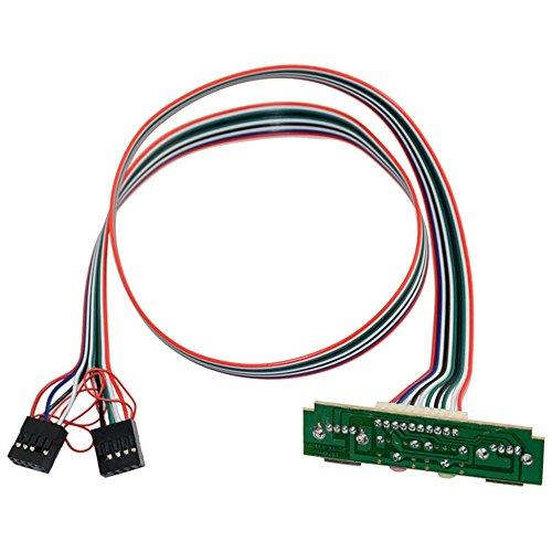 2x USB 1.0 Audio Port Mic Kopfhoerer PC Computer Front Panel Frontpanel Kabel - Audio-panel