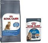 1x Royal Canin Katzenfutter 400g Care Light Weight + 4 x Ultra Light Care care 85g Feuchtfutter dazu +