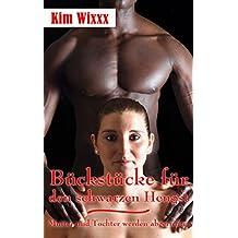 Bückstücke für den schwarzen Hengst: Mutter und Tochter werden abgerichtet und geschwängert (Kim Wixxx 16)