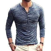 Chickwin Casual Camisa para Hombre, T Camisas Slim Fit Camisas Playa Hombres Manga Corta Casual