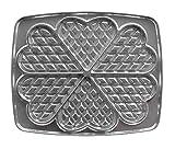 Lagrange 030521 Gaufres Cœur Plaques en fonte d'aluminium...