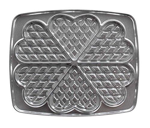 LAGRANGE 030521 Aluminio accesorio para gofrera de hierro - Accesorios para gofreras de hierro (Aluminio, Metálico)
