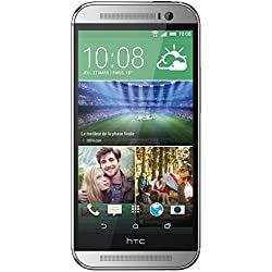 "HTC One (M8) - Smartphone libre Android (pantalla 5"", cámara 4 Mp, 16 GB, Quad-Core 2.3 GHz, 2 GB RAM), plateado [importado]"