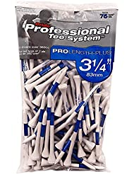 Pride Golf Pack De 75 Tees En Bois Pride Pts 83Mm Golf Bleu