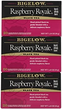 Bigelow Raspberry Royale Tea Bags - 20 ct - 3 Pack