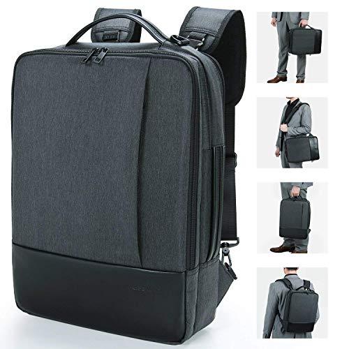 Lifewit Sac à Dos Ordinateur Portable, Sac à Bandoulière Laptop 15.6 pouces Backpack Rucksack avec Couverture de Pluie Unisexe Femme Homme pour Randon...