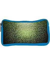 Snoogg Eco Friendly Canvas Small Grass Design Designer Student Pen Pencil Case Coin Purse Pouch Cosmetic Makeup...