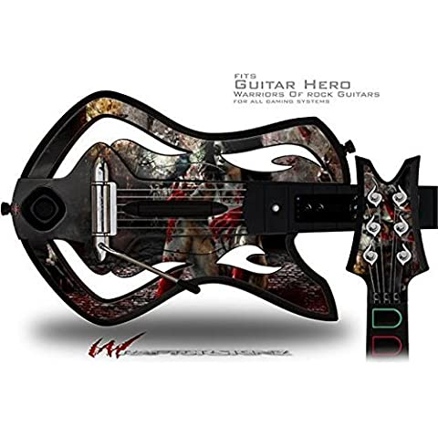 Exterminating Angel Decal Style Skin - fits Warriors Of Rock Guitar Hero Guitar (GUITAR NOT INCLUDED) by WraptorSkinz