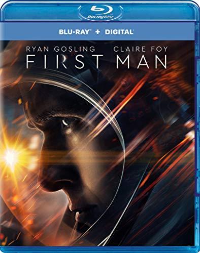 First Man (Blu-ray + Digital Copy) [2018] [Region Free]