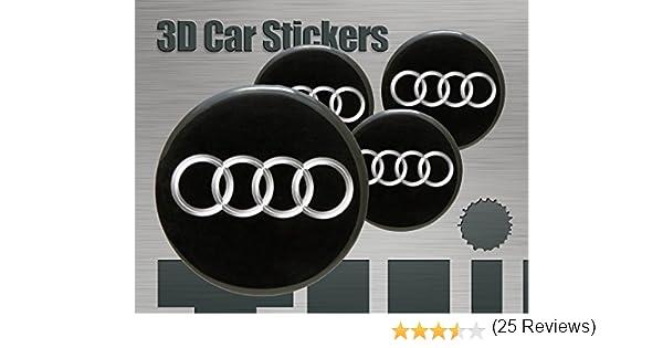 Think Ink Adesivi 3D Stickers 4 Pezzi Logo Lancia Imitazione Tutte Le Dimensioni Centro cap Wheel Coprimozzo 50 mm