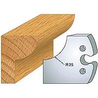219: Juego De 2Y suministro Quart de redondo 25mm HT 50mm para puerta herramientas entr' Axe Plot 24mm