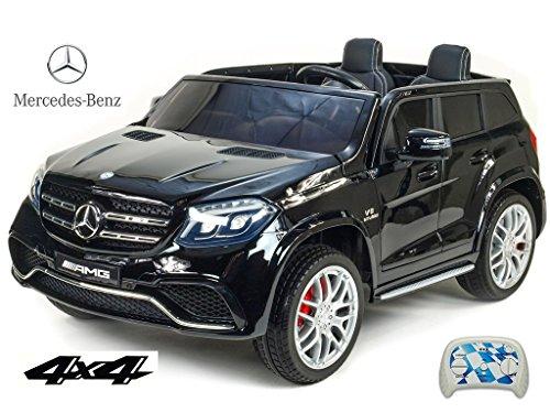 *Allrad f 2 Kinder XXL Kinderelektroauto kinderauto Mercedes GLS 63 4×4 gefedert Zweisitzer Kinderelektrofahrzeug 12V Jeep Offroader*