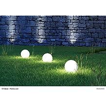 3er Set 30,40,50 Cm Kugel Leuchten Garten Kugel Mit LED Beleuchtung Und  Zuleitung   Wunderschöne Hochwertige Außenbeleuchtung Als 3er Set  Außenbeleuchtung ...