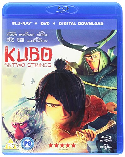 Kubo And The Two Strings + Uv (2 Blu-Ray) [Edizione: Regno Unito] [Edizione: Regno Unito]