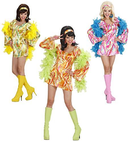 Partypackage 70er Jahre Mod Chick Kostüm 70er Jahre Kostüm UK Größe 42-42