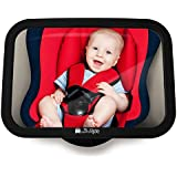 View Back Seat Mirror, unbreakable Mirror for Baby Car Seat, Car Mirror Without Parts/Screws Baby, Baby Mirror in Universal Fit