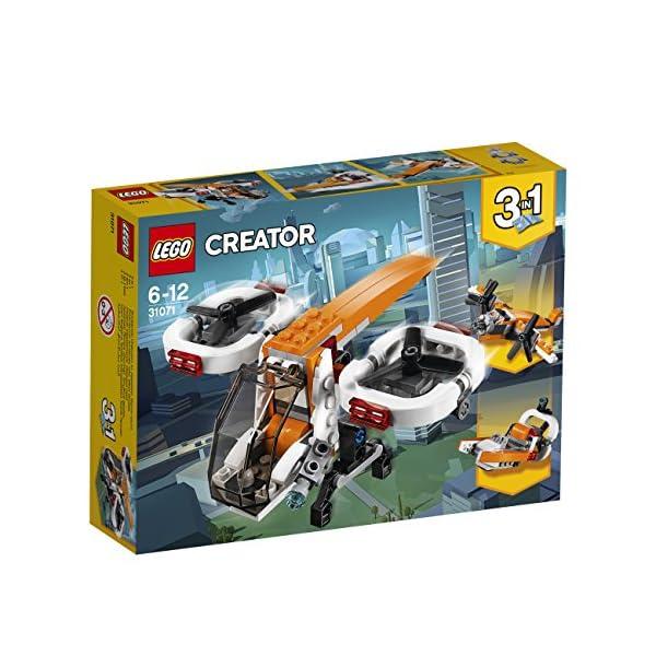LEGO- Creator Drone Esploratore, Multicolore, 31071 2 spesavip