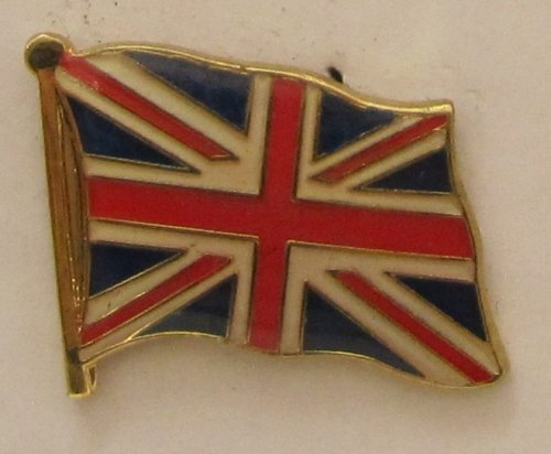 Pin Anstecker Flagge Fahne Großbritannien Union Jack Nationalflagge Flaggenpin Badge Button Flaggen Clip Anstecknadel -