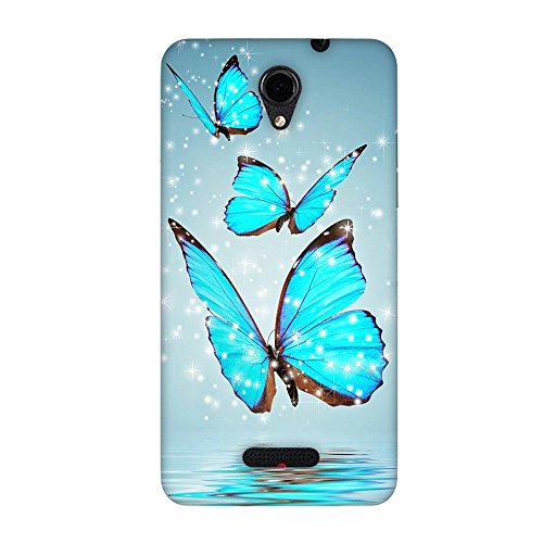 FASHEEN Premium Designer Soft Case Back Cover for Panasonic Eluga L2