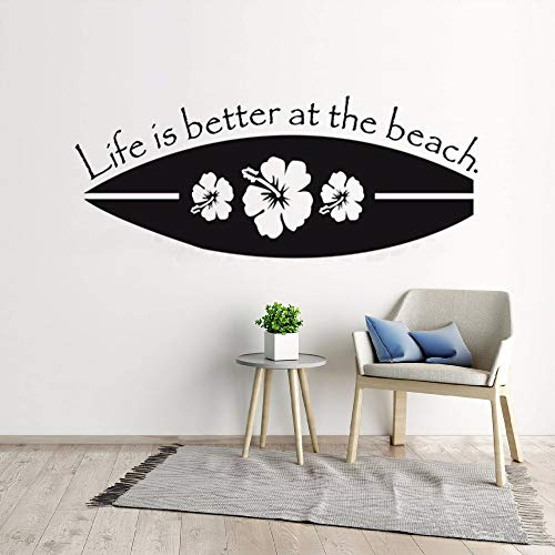 Ziweipp 42x104 cm Nuevo diseño Tabla Surf Decoración