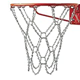 LIOOBO 2 Piezas de Hierro Red de Baloncesto Neta Profesional estándar de Alta Resistencia de Baloncesto Red de reemplazo Red de Baloncesto