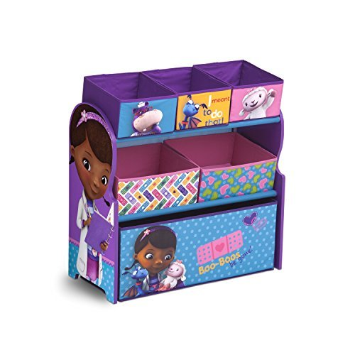 Delta Children Multi Bin Toy Organizer, Doc McStuffins by Delta Children (Multi Bin Toy Organizer)