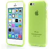 iProtect Schutzhülle iPhone 5c Hülle soft matt transparent grün