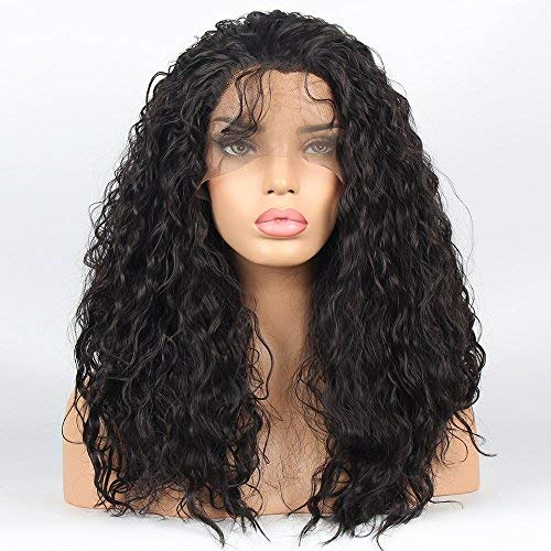 VvBing Hair Wig Synthetic Lace Front Wigs Curly Hair