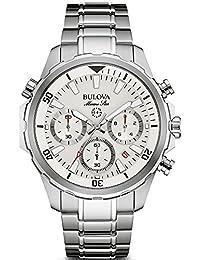Bulova – Reloj de Pulsera Hombre cronógrafo Cuarzo Acero Inoxidable 96b255 82f2ada2269d