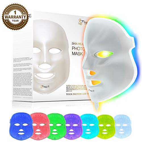 Skin Care Beauty & Health Rapture Therapy Beauty Salon Light Electric Led Facial Mask Home Use Skin Skin Rejuvenation Anti Acne Wrinkle Removal Clients First