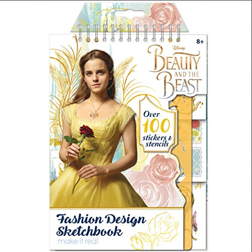 Make it Real 4201Disney Beauty und The Beast Fashion Design Skizzenblock