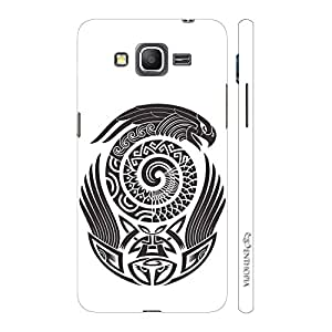 Enthopia Designer Hardshell Case Maori Eagle Back Cover for Samsung Galaxy J5