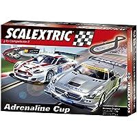 Scalextric Original - Circuito C3 Adrenaline Cup con pistas nuevas digitalizables (A10130S500)