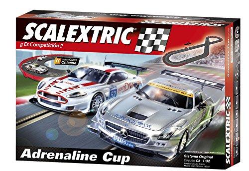 Scalextric Original - Circuito C3 Adrenaline Cup Pistas