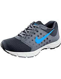 Clymb Air Grey Sky Blue Sports Running Shoes For Men's