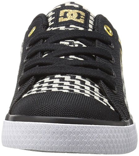 DC scarpe da donna Chelsea TX se J shoe Win Low-top sneaker Black/Gold