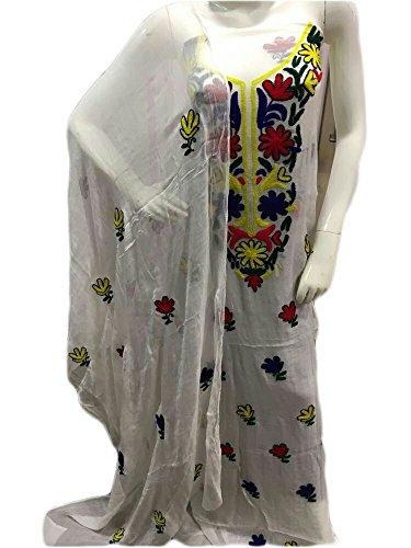 Anasha Fashions Pakistani Karachi Work Pure Shiffon Top And Dupatta