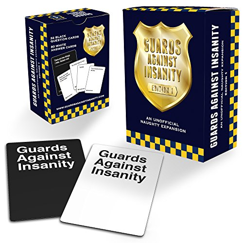 Guards Against Insanity Edition 1, inoffizielles Erweiterungsset für Kartenspiel Cards Against Humanity