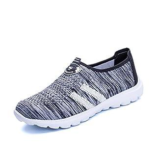 Eagsouni Casual Damen Herren Sport Schuhe Turnschuhe Frühlings Sommer Outdoor Sports Sandalen Knit Mesh Atmungsaktive Sneaker Fitnessschuhe Unisex Couple 35-43