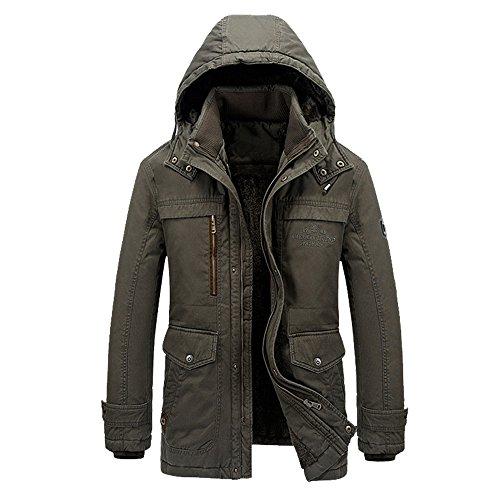 TTLIFE-giacca-eccellente-invernale-per-gli-uomini-in-giacca-invernale-invernale-con-cappuccio-Mens-Outdoor-Giacca-Taglia-L-XL-XXL