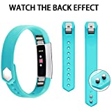 Iloft® Fitbit Alta Strap And Alta HR Strap, Adjustable Replacement Sport Strap Bands For Fitbit Alta And Alta...